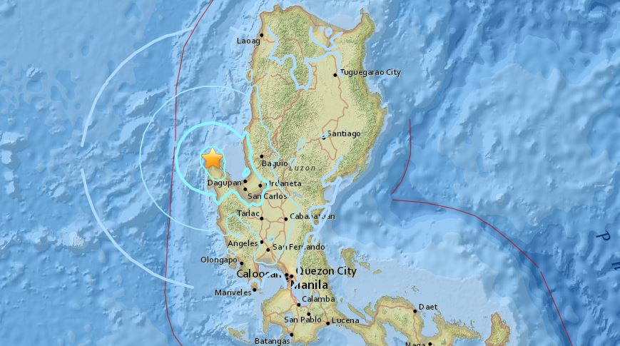 Magnitude 5.3 earthquake jolts Northern Luzon, Metro Manila areas