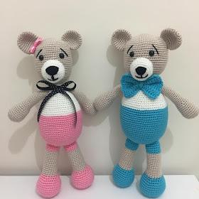 Amigurumi Crochet Teddy Bear (Sevimli Ayı) Pattern Yapılışı | 280x280
