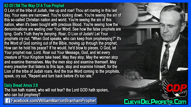 Repent and turn back before it is too late - William Branham Quotes
