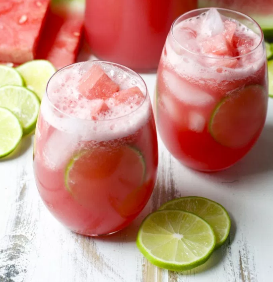 Watermelon Limeade #drink #watermelon