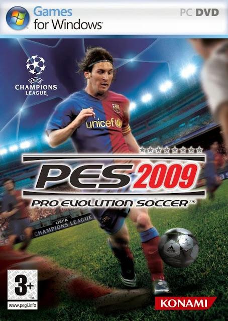 ألعاب كرة القدم : تحميل لعبة Pes 2009 بحجم صغير جدا على الحاسوب