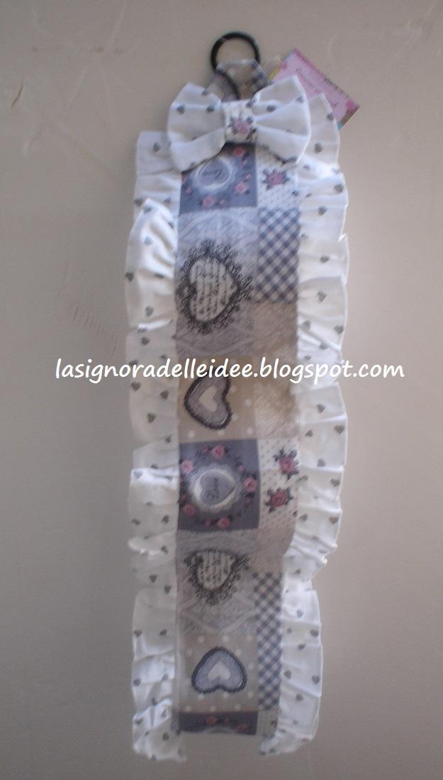 La signora delle idee porta rotoli di carta igienica in - Porta carta igienica ...