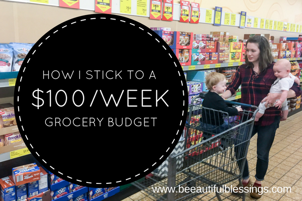 Bee)autiful Blessings: How I Stick to a $100/Week Grocery Budget