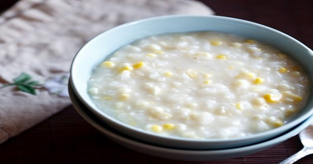 Ginataang Mais (Corn With Coconut Milk) Recipe