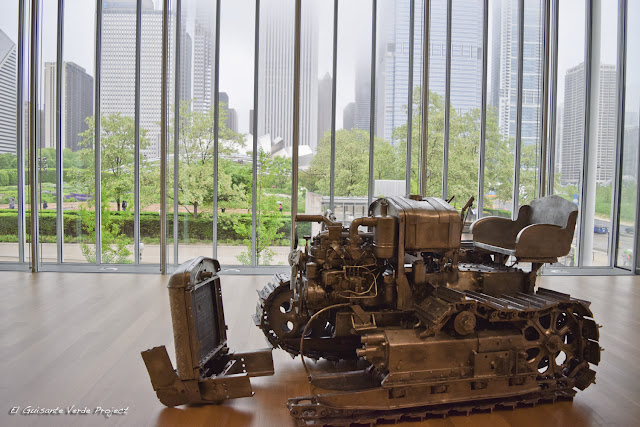 Charles Ray y Millennium Park en el Art Institute Chicago por El Guisante Verde Project
