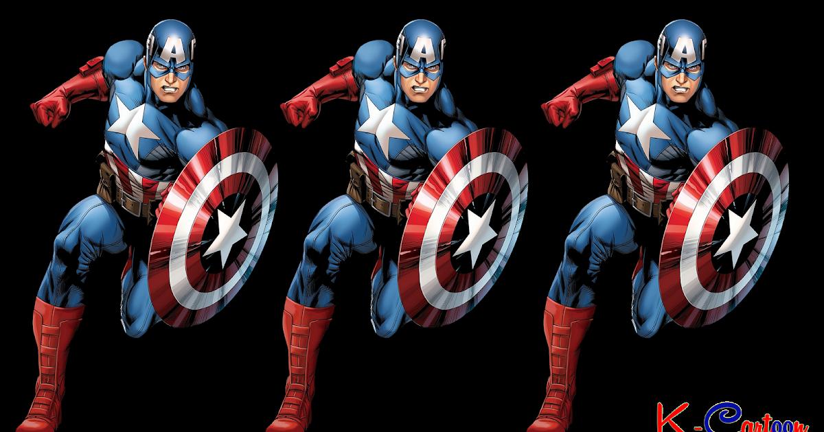Gambar HD Captain America Vektor Terbaru