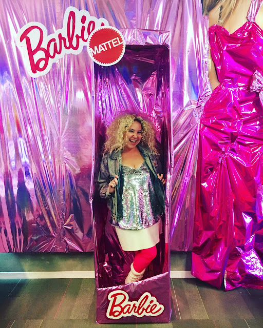 2017, 2018, reflection, Jamie Allison Sanders, Barbie and the Rockers, Halloween costume