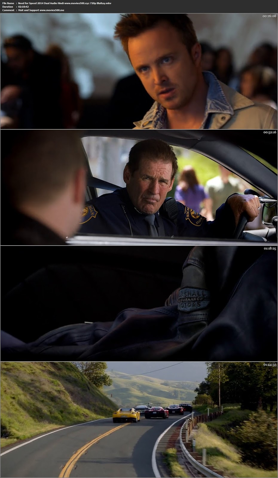 Need for Speed 2014 Dual Audio Hindi Full Movie BluRay 720p ESUbs at movies500.info
