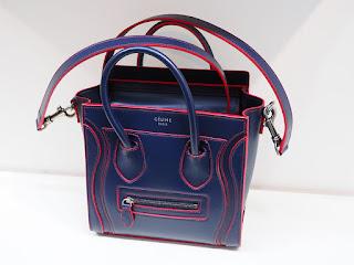 セリーヌ ラゲージ ナノショッパー REF168243 2WAYバッグを買い取り致しました