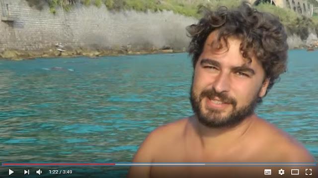 Ventimiglia, c'è una spiaggia segreta...