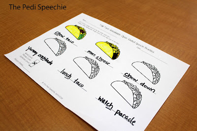 Cinco de Mayo articulation worksheets for speech therapy