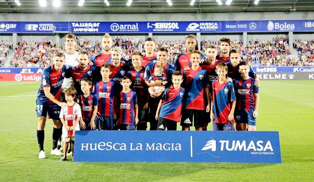 S. D. HUESCA 0 REAL SOCIEDAD DE FÚTBOL DE SAN SEBASTIÁN 1 (Mikel Merino). 21/09/2018. Campeonato de Liga de 1ª División, jornada 5. Huesca, estadio El Alcoraz.