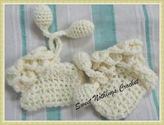 free crochet pattern, free crochet baby booties pattern,