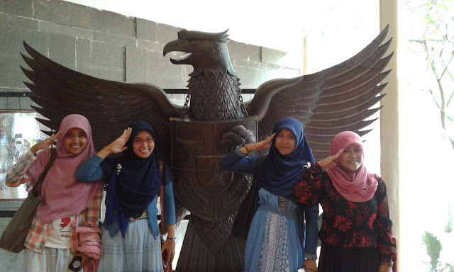 Patung Garuda Pancasila di Museum Bung Karno