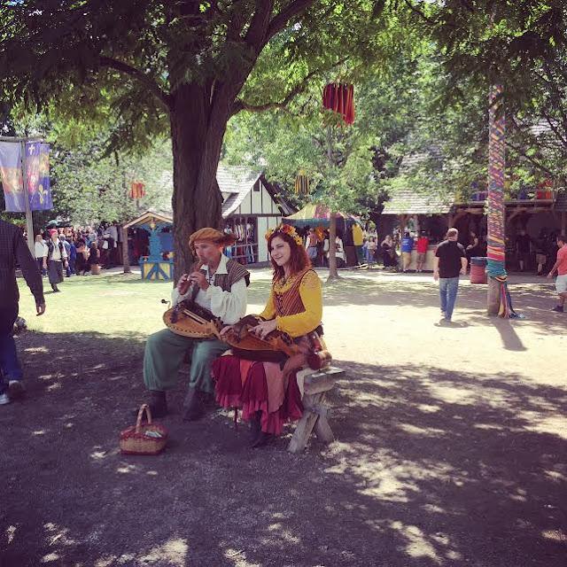 Musicians at Bristol Renaissance Faire
