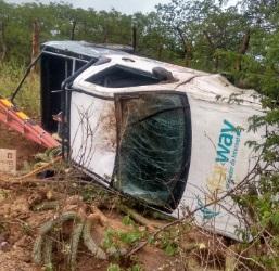Pneu estoura e causa capotamento de veículo próximo à Picuí