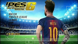 PES 6 MOD PES 2018 ISO PPSSPP FOR ANDROID + SAVEDATA TEXTURES