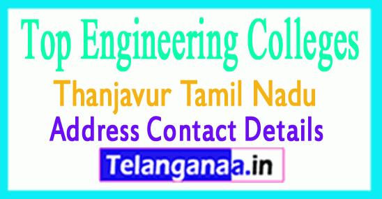 Top Engineering Colleges in Thanjavur Tamil Nadu