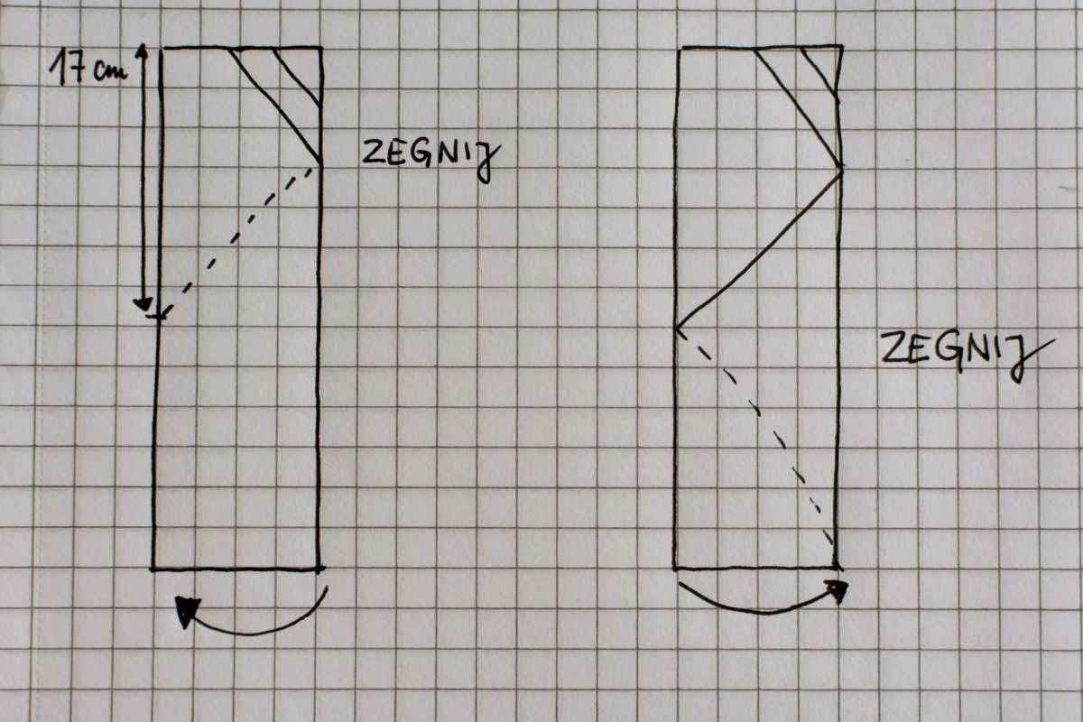 Figlujemy Lampa Origami Tutorial