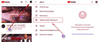 Tutorial Youtube | Cara Mengaktifkan Mode Penyamaran untuk Pengalaman Peninjauan Pribadi