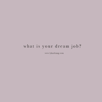 Are you living your dream job?