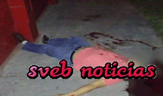Matan a joven afuera de un antro en Poza Rica Veracruz
