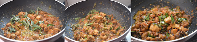step 5 - Curry Leaves Chicken Roast
