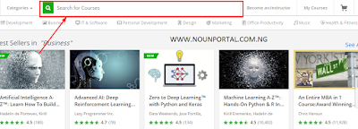 Click on the area to search for udemy free online courses.png