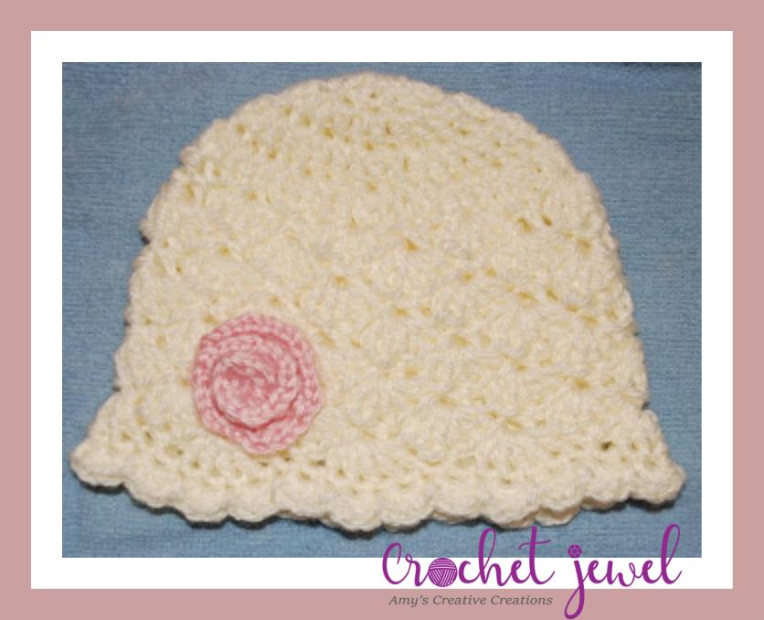 Amy\'s Crochet Creative Creations: Crochet Shell Newborn Hat
