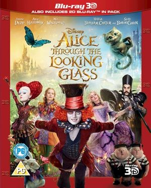 Alice Through The Looking Glass (2016) 3D Latino