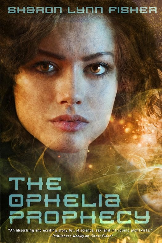 Interview with Sharon Lynn Fisher, author of The Ophelia Prophecy and Ghost Planet - April 2, 2014