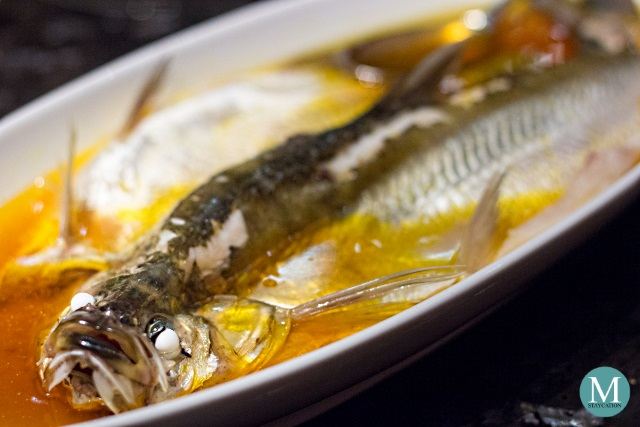 Steamed Taihu Lake White Fish