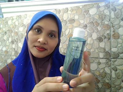 Althea Pore Purifying Serum Cleanser Membersihkan Make-up Dengan Berkesan