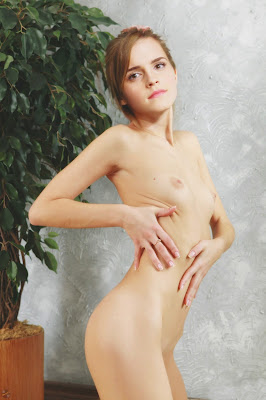 410501119 Emma Watson 6b by SexyCJ 123 401lo Emma Watson Nude Sqeezing her Boobs in Horny Mood Fake
