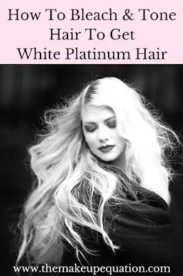 DIY Platinum White Hair Recipe