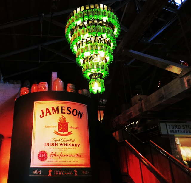 Old Jameson Distillery - Chandelier