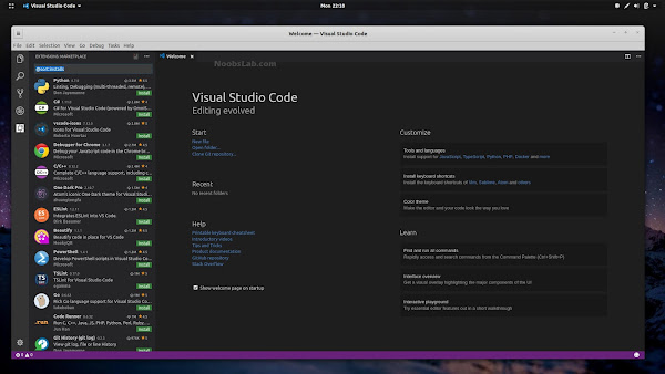 visual-studio-code Visual Studio: A Versatile And Open Source Code Editor Available As Snap Technology