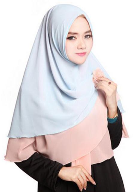 Jilbab Instan Model Terbaru Dengan Model Bervariasi