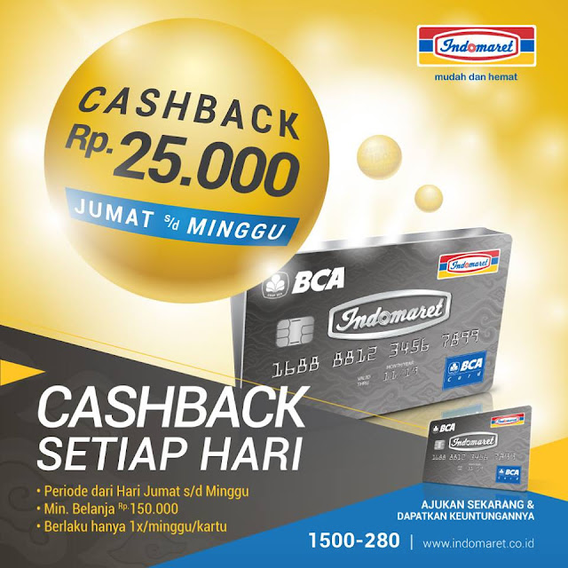 cashback Rp 25.000