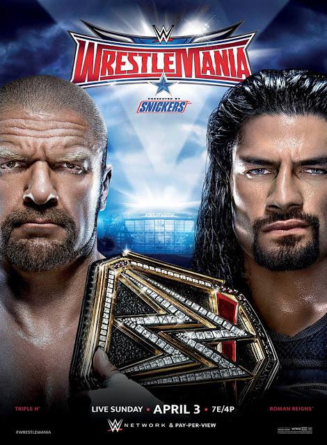 WrestleMania 32 risultati
