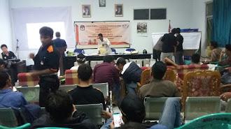 PPK Gelar Rapat Pleno, 2DM Unggul di Utara Karawang