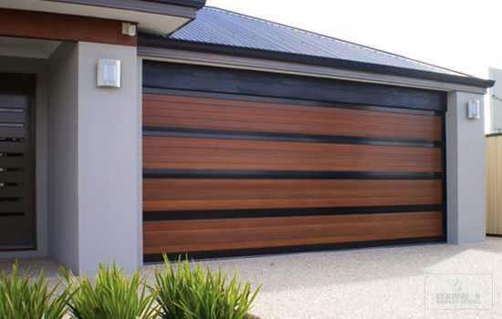 Garage Door Modern Design Photo