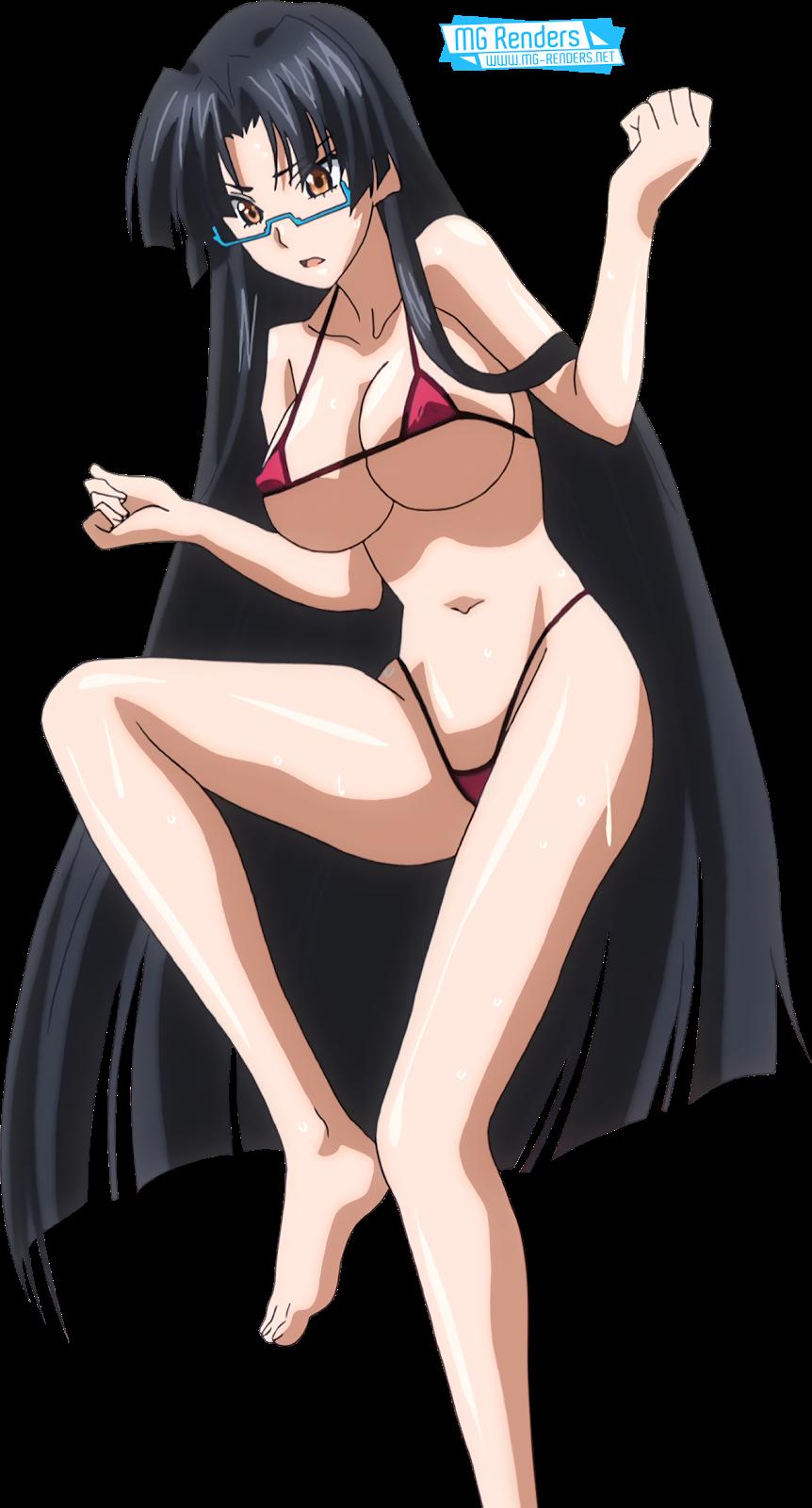 Tags: Render, Barefoot, Bikini, Black hair, Erect nipples, Feet, High School DxD, Huge Breasts, Large Breasts, Long hair, Megane, Shinra Tsubaki, Sling Bikini, Swimsuit, Toes, Very long hair