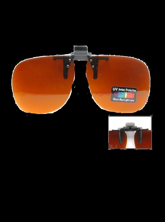 Óculos escuridão virtual clip-on (grampear)