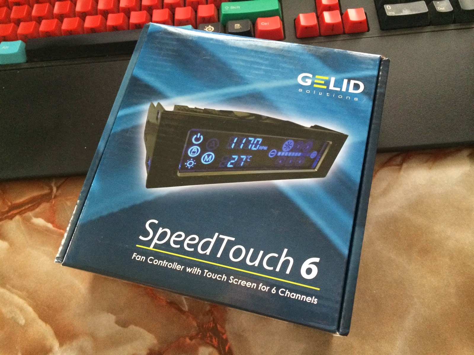 Unboxing& Review - Gelid Solutions SpeedTouch 6 Fan Controller 32