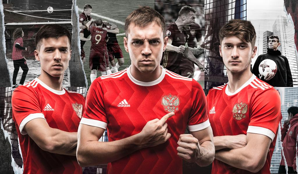 e53b96e5b44 The Russia 2018 World Cup jersey will be red with white (and blue) accents.