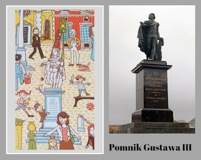 pomnik gustawa iii sztokholm