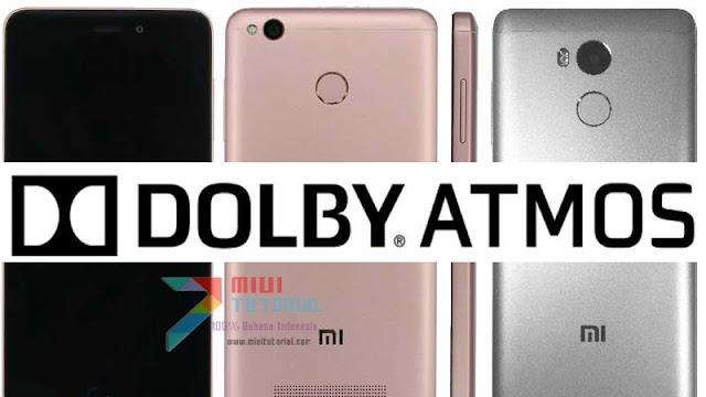 Pingin Punya Pemutar Musik Sekelas DAC dan DAP di Xiaomi Redmi 4 Prime? Coba Install Dolby Atmos R6.5 Ini