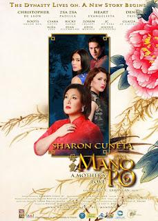 Mano Po 6: A Mother's Love is the sixth installment in the Mano Po film franchise, following Mano Po 5: Gua Ai Di in 2006.