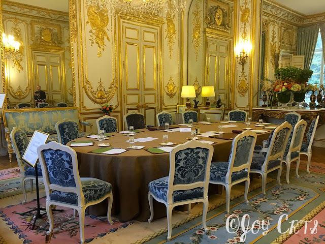 Le Salon des Ambassadeurs , Palais de l'Elysée, Paris